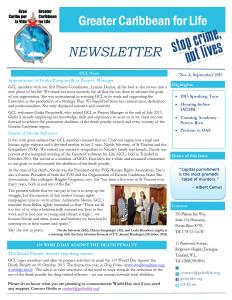 GCL Newsletter 4 - FINAL