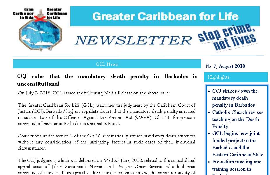 GCL Newsletter 7